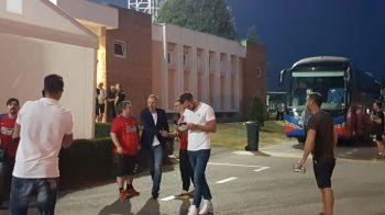 Spioneaza viitoarea echipa sau viitorul adversar? Edi Iordanescu, aparitie surpriza in tribune la partida FCSB - Viitorul: FOTO