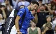 Soc in optimile de finala de la US Open: Djokovic, eliminat! De ce s-a retras dupa doua seturi pierdute