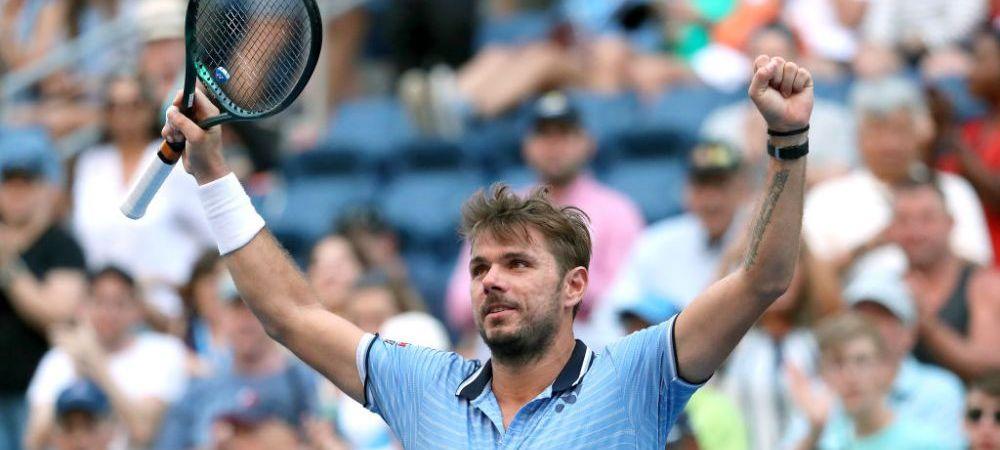 VIDEO | Moment savuros la US Open! Wawrinka a oferit un autograf pe fruntea unui fan
