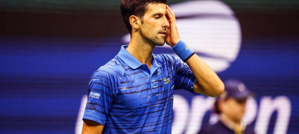 US OPEN 2019   Djokovic, fluierat de fanii americani! Gestul facut de sarb catre spectatori