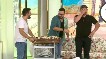 "Maruta i-a stricat dieta lui Catalin Morosanu: ""De cand am iesit de la Ferma am daramat bucataria, manac tot!"" VIDEO"