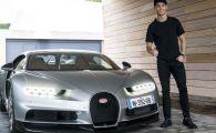 OFICIAL! Bugatti Chiron, masina condusa de Ronaldo, cea mai RAPIDA din lume! Ce viteza AMETITOARE atinge!