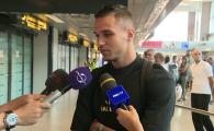 """Cristi Manea a ajuns in Romania si urmeaza sa fie prezentat de FCSB: """"Situatia nu ma sperie, ne luptam la titlu!"""" VIDEO"""