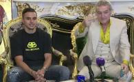 """Cristi Manea, prezentat oficial de Becali la FCSB: """"Sa va spun adevarul!"""" Cat castiga jucatorul si ce clauza are. VIDEO"""