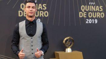 Cristiano Ronaldo rescrie istoria: a 10-a oara jucatorul anului in Portugalia. Ce jucatori a batut
