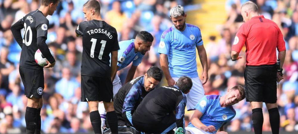 Panica la Manchester City! Cat lipseste fundasul preferat al lui Pep Guardiola