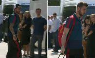 Nationala de 1 MILIARD a Spaniei a ajuns la Bucuresti, pe aeroportul Baneasa! Galerie FOTO