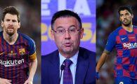 """Messi si celelalte staruri ale Barcelonei, la cutite cu cei din conducerea clubului dupa ratarea transferului lui Neymar! Bartomeu, acuzat ca a facut """"spectacol"""""""