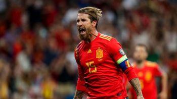 ROMANIA - SPANIA, 21:45 PRO TV   Ramos, capitanul, simbolul, animalul! Povestea celui care mobilizeaza nationala Spaniei