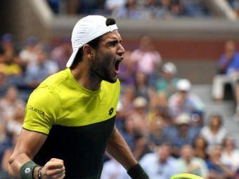 US OPEN 2019 | Cine e Matteo Berrettini, revelatia turneului! A trecut de Monfils si va lupta cu Rafael Nadal