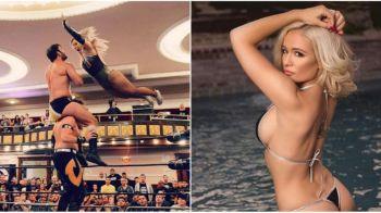 O romanca a dat lovitura in SUA! A devenit DIVA in wrestling si e aproape de WWE. FOTO INCENDIAR