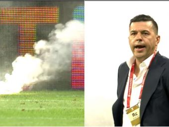 ROMANIA - SPANIA: Moment incredibil pe National Arena! Ultrasii au aprins torte si au stricat momentul de reculegere! VIDEO