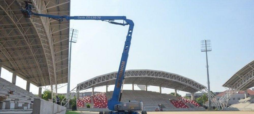 O noua arena ULTRAMODERNA in Romania: a costat peste 10 milioane de euro si ar putea fi gata pana la finalul anului! Echipa de traditie care se va muta aici