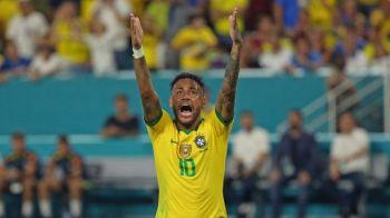 Si-a adus aminte ca stie fotbal :) Neymar, meci perfect pentru nationala in meciul contra Columbiei   VIDEO