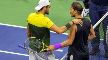 """US OPEN 2019   Matteo Berrettini, dupa ce a fost eliminat de Nadal: """"Am invatat la acest US Open ca tenisul este ciudat!"""""""