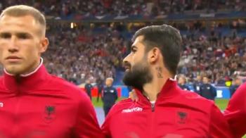 PRELIMINARII EURO 2020: Scene incredibile pe Stade de France: au incurcat imnul Albaniei cu al Andorrei si si-au cerut scuze ARMENIEI! VIDEO