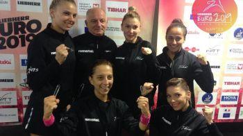 FABULOS! Romania castiga din nou Campionatul European la tenis de masa! Echipa feminina a Romaniei a castigat finala contra Portugaliei