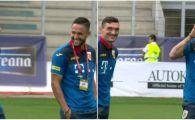 ROMANIA - MALTA: Florin Andone l-a imitat pe Sergio Ramos! Cum a reactionat cand a vazut camera de filmat. FOTO