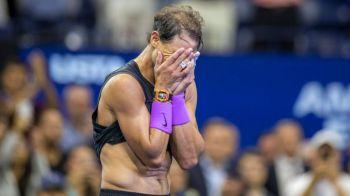 Si campionii plang cateodata! IMAGINI INCREDIBILE cu Nadal dupa victoria de la US Open! Spaniolul nu s-a mai putut stapani   GALERIE FOTO