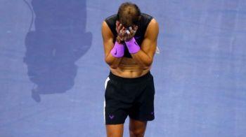 """Rafael Nadal este in al 9-lea cer dupa finala de la US Open. Ce spune spaniolul despre lacrimile de la finalul partidei: """"Mi-a fost imposibil"""""""