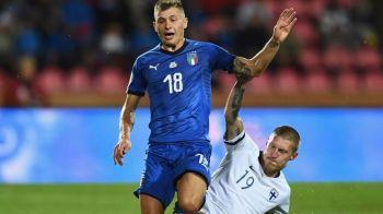 Asta da surpriza! Cine a fost prezent in peluza Finlandei la meciul cu Italia. Nimeni nu se astepta