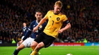 Kevin De Bruyne este o masina de fotbal! Meci fantastic facut de belgian impotriva Scotiei. Ce cifre are in acest start de sezon