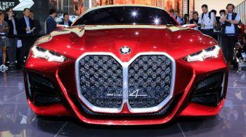 Masina de la BMW care a atras toate privirile la Salonul Auto de la Frankfurt. Cum arata Concept 4. FOTO
