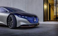 Mercedes si-a lansat prima limuzina ELECTRICA! Vezi cum arata Vision EQS, viitorul luxului auto. FOTO