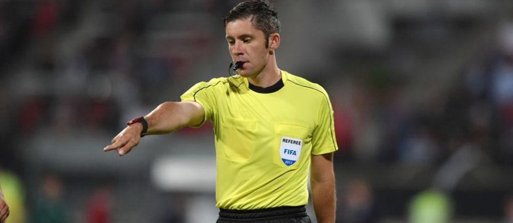 Liga 1 e prea mica pentru arbitrii romani. Radu Petrescu a arbitrat finala Cupei Egiptului