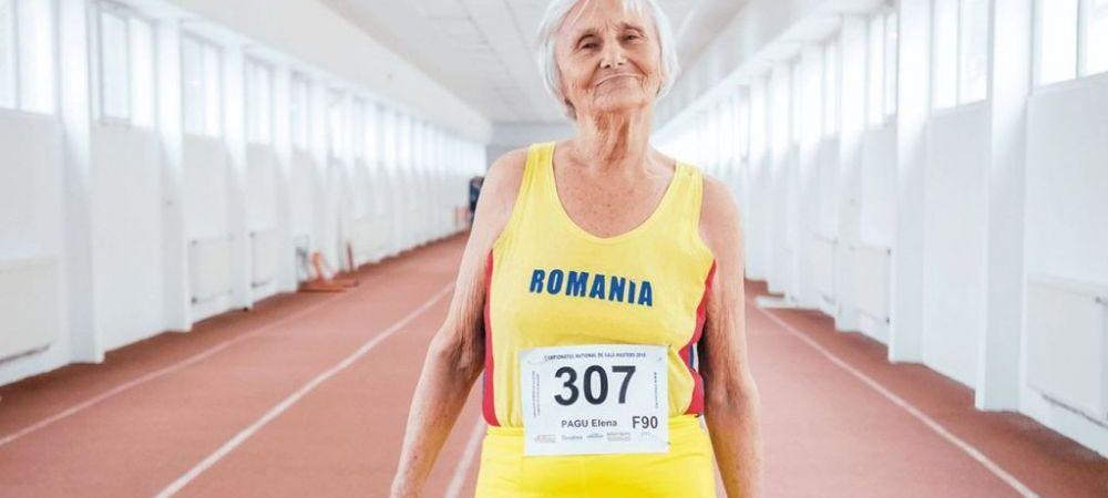 Cea mai varstnica campioana a Romaniei: la 93 de ani castiga medalii pentru tara noastra