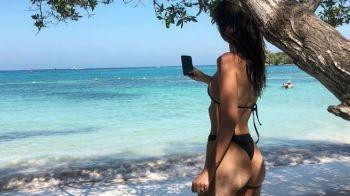 Regina bikinilor loveste din nou! Are peste 20 de milioane de urmaritori pe retelele de socializare si a pus pe jar internetul cu ultimele aparitii! GALERIE FOTO INCENDIARA