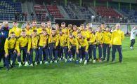ROMANIA U17 | Nationala din care face parte fiul unui fost antrenor al FCSB a facut ultima repetitie inainte de preliminariile Euro 2020