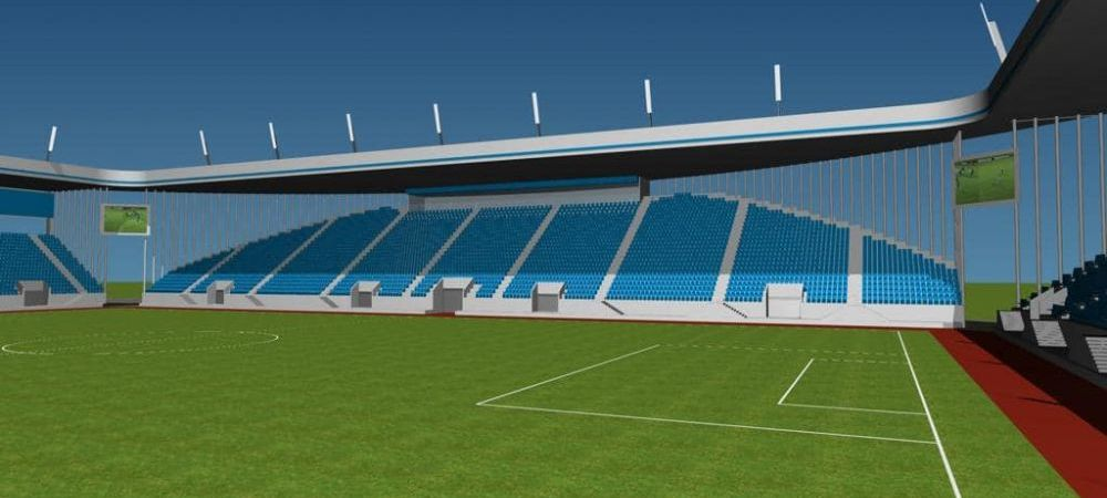"""Mititelu construieste """"Mini Oblemenco"""". Primele imagini cu noul stadion din Craiova! FOTO"""