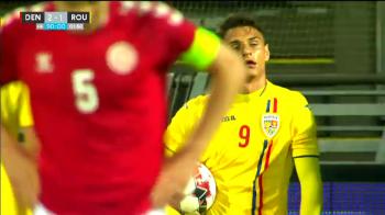 Cum a reactionat Ganea dupa infrangerea nationalei U21! Fiul sau a obtinut penalty in prelingiri, dar nu a executat. VIDEO
