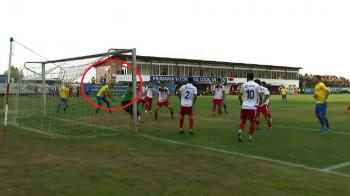 Ratarea anului in fotbalul romanesc! Un jucator de la Petrolul n-a nimerit poarta goala din 2 metri! VIDEO