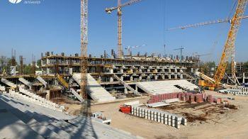 Se vad tribunele in Ghencea! Stadioanele pentru EURO 2020 prind contur. Care e stadiul lucrarilor. FOTO