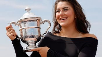 """Bianca Andreescu, CUVINTE URIASE din partea Martinei Navratilova: """"Are luciditatea unei mari campioane!"""""""