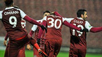 CFR CLUJ - VOLUNTARI 5-0: Doua rosii, CINCI goluri! Campioana a facut spectacol fara Dan Petrescu pe banca. Vezi fazele