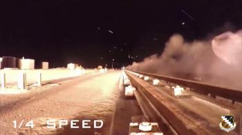 Ce se intampla cu un vechicul care circula cu 10.000 KM/H. Momentul a fost surprins pe camera. VIDEO
