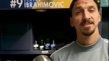 """Zlatan Ibrahimovic loveste din nou! A fost desemnat cel mai bun jucator din MLS: """"Stiti sa votati, sunteti cei mai buni! La fel ca mine"""""""