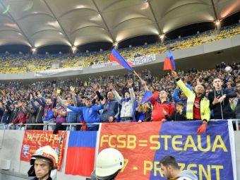 CRAIOVA - FCSB: Galeria ros-albastrilor face deplasarea in Banie. Cate bilete au cerut