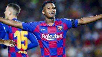 ANSU FATI este noua perla a Barcelonei! La 16 ani a fost declarat omul meciului contra Valenciei. L-a batut pe Messi la un capitol. Vezi cifrele acestuia si video cu golul