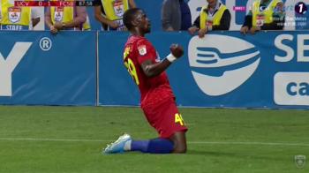 """CRAIOVA - FCSB 0-1: Juvhel a batut """"juvetii""""! Echipa lui Vintila da lovitura in Banie! Tsoumou debuteaza cu gol pentru FCSB!"""