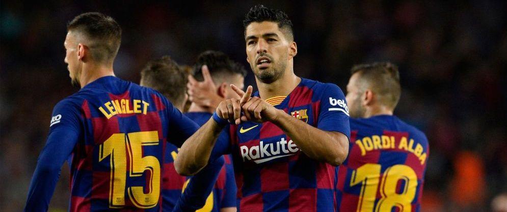 Luis Suarez a oferit cel mai emotionant moment in Barcelona - Valencia: i-a dedicat reusitele fiicei lui Luis Enrique. FOTO