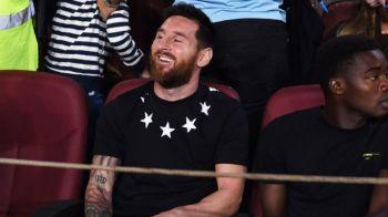 Ar fi transferul SECOLULUI! Discutii la Londra pentru o mutare surprinzatoare a lui Messi! Ce legenda il oferteaza