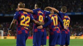 TIKI TAKA BARCELONA | Golul de 1-0 al catalanilor este marca inregistrata. 18 atingeri de la 8 jucatori au condus la deschiderea scorului. VIDEO