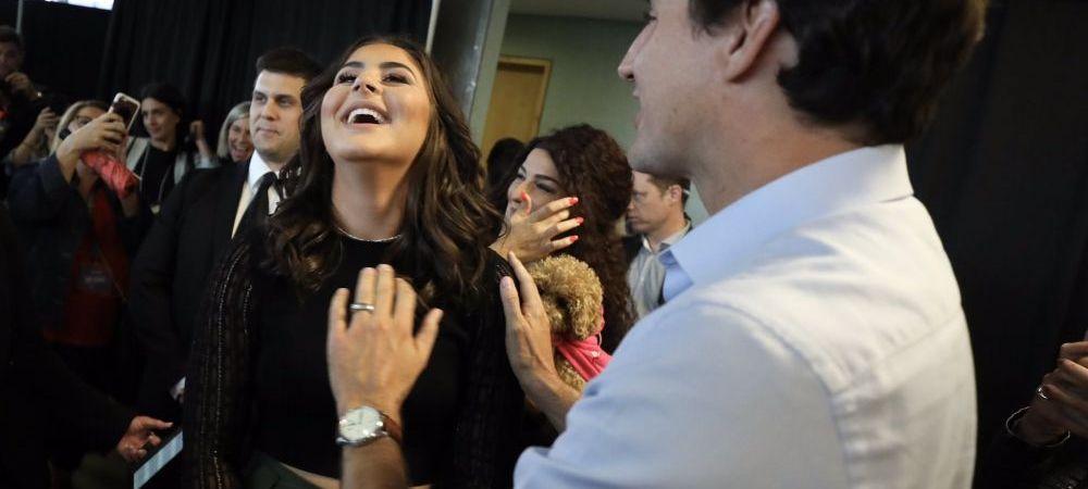 "Primire de PRINTESA pentru Bianca Andreescu in Canada. Premierul Justin Trudeau a facut spectacol: ""Va multumesc ca ati emigrat aici"""