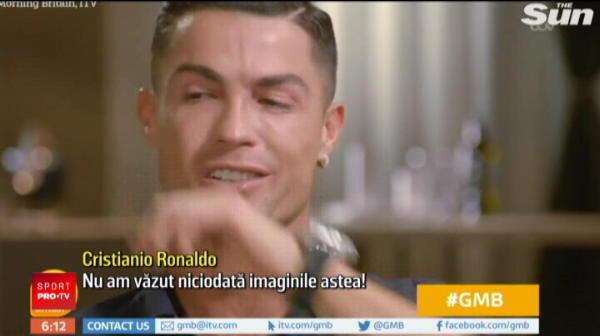 """Cristiano Ronaldo, in lacrimi la TV! Intrebarea care i-a sfasiat sufletul portughezului: """"Nu am vazut niciodata imaginile astea, n-am avut niciodata o conversatie normala"""""""
