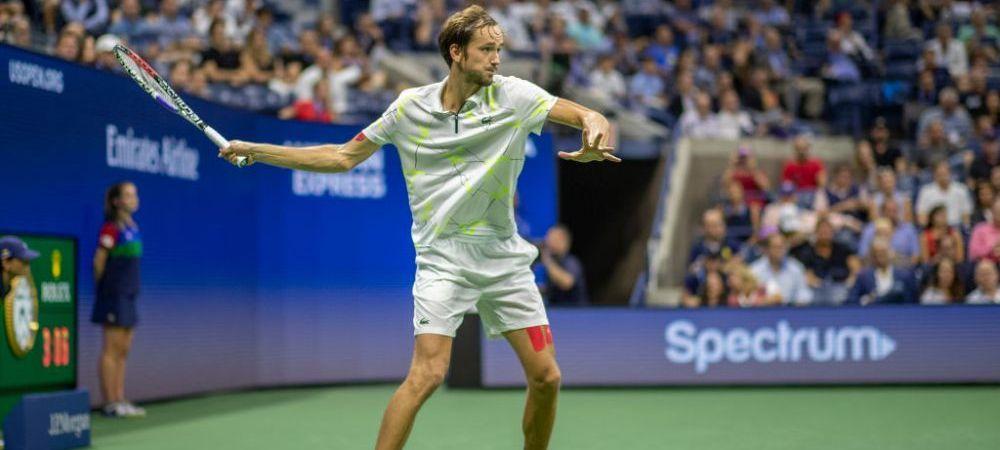 """Declaratie curajoasa a lui Medvedev: """"Nu imi pasa daca Federer sau Nadal joaca sau nu"""" Ce l-a determinat pe rus sa afirme asta"""
