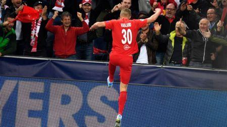 E eroul serii in UEFA Champions League: 19 ani, 3 goluri intr-o repriza in Liga!  Ianis al Norvegiei  ii da emotii lui Contra: poate veni la Bucuresti luna viitoare